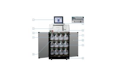 Donatello серии 2 – автоматический тканевой процессор